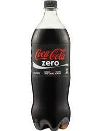 Coke Zero 1.25L single bottle