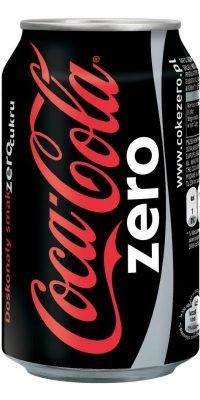 Coke Zero cans