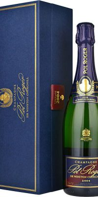Pol Roger Sir Winston Churchill Champagne 2004 gift box